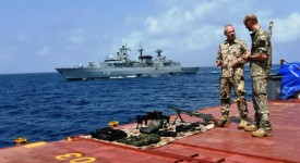 NATO-officers-review-equipment-on-the-deck-of-MSM-Douro